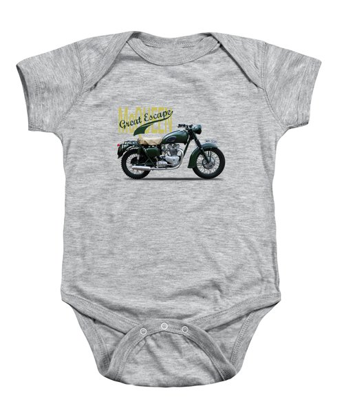 The Great Escape Motorcycle Baby Onesie