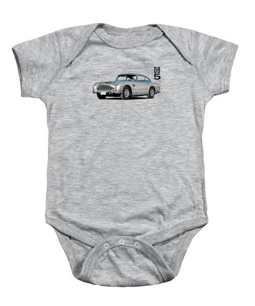Aston Martin Db5 Baby Onesie