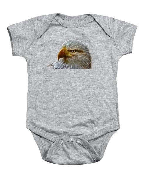 Glowing Eagle Baby Onesie