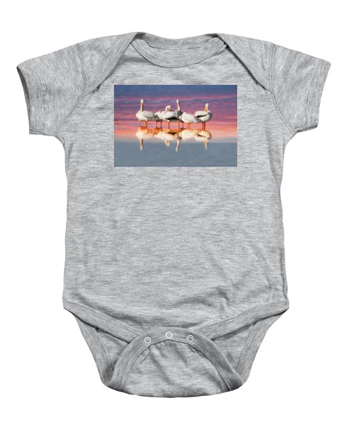 As The Sun Goes Down Baby Onesie