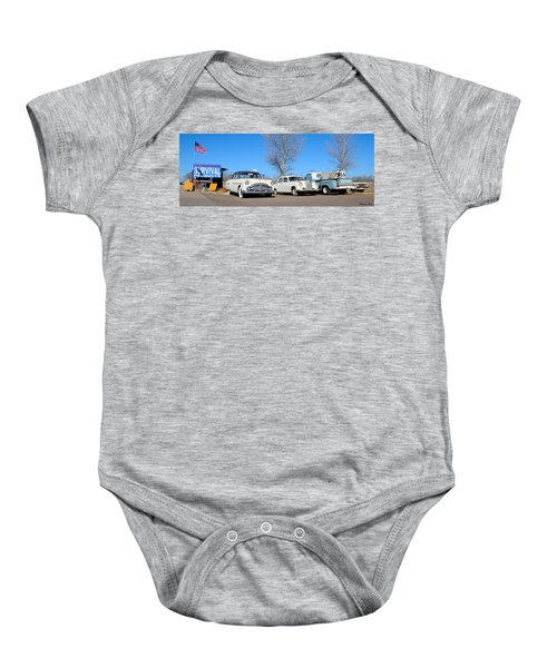 Ash Fork Vintage Cars Along Historic Route 66 Baby Onesie
