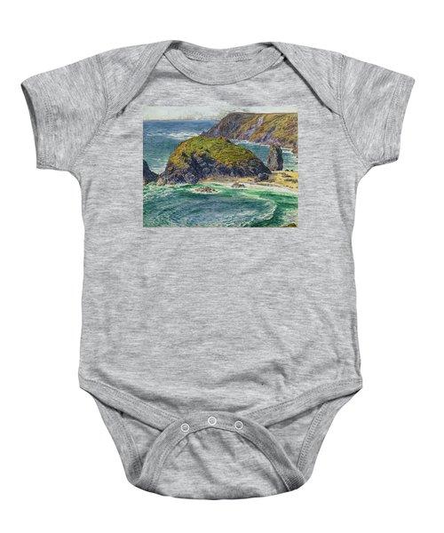 Asparagus Island Baby Onesie