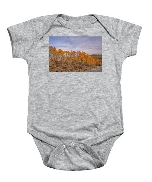 Aspens In Utah Baby Onesie