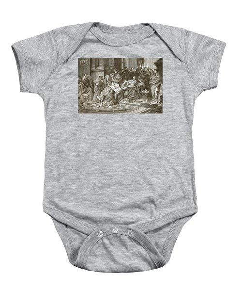 Assassination Of Julius Caesar Baby Onesie