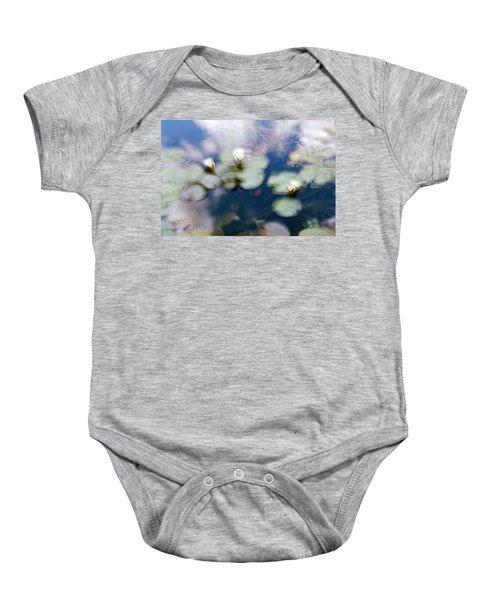 At Claude Monet's Water Garden 4 Baby Onesie