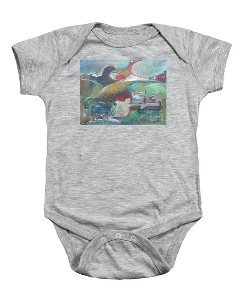 At The Sea Shore Baby Onesie