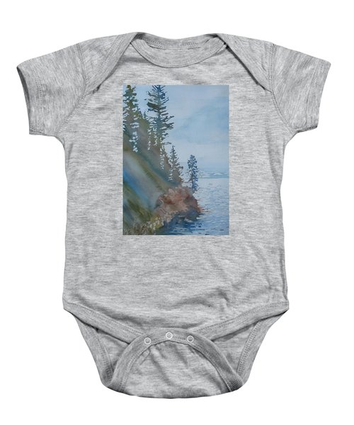 At The Water's Edge Baby Onesie