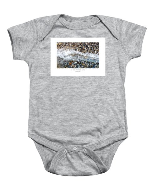 At The Waters Edge Baby Onesie