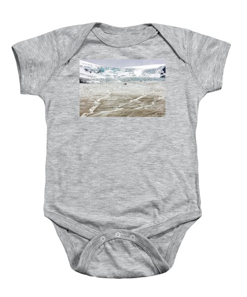 Athabasca Glacier With Guided Expedition Baby Onesie