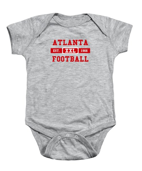 Atlanta Falcons Retro Shirt 2 Baby Onesie by Joe Hamilton