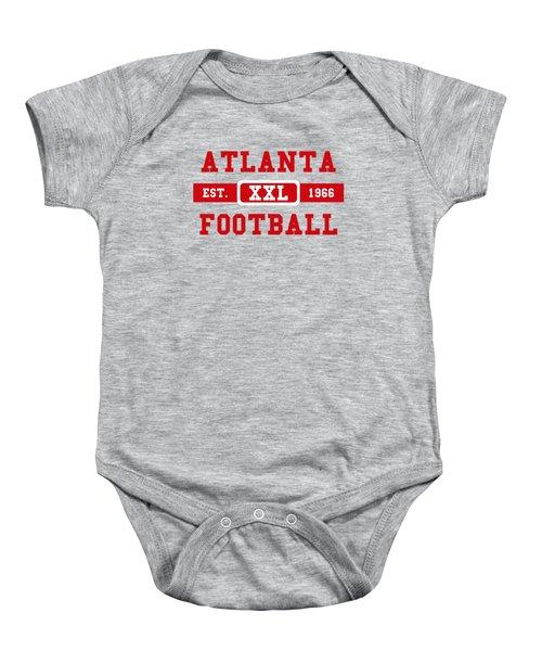 Atlanta Falcons Retro Shirt 2 Baby Onesie