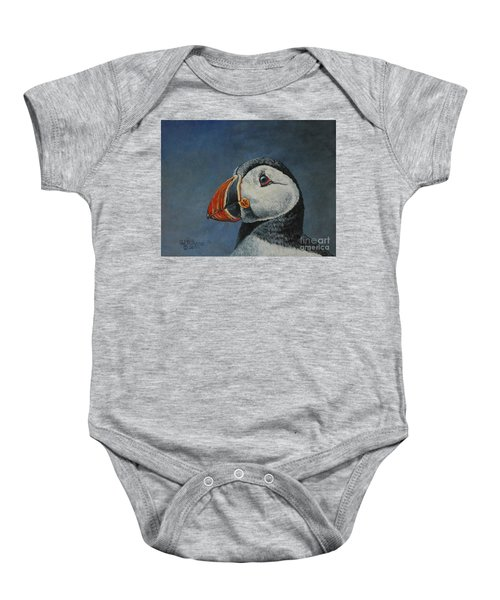 Atlantic Puffin Baby Onesie