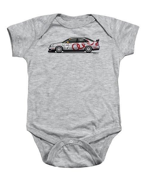Audi A4 Quattro B5 Btcc Super Touring Baby Onesie