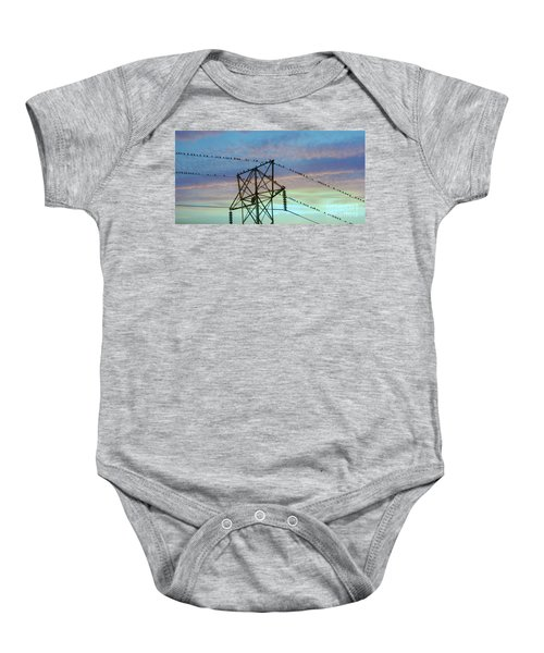 Auditioning For A Hitchcock Movie Baby Onesie