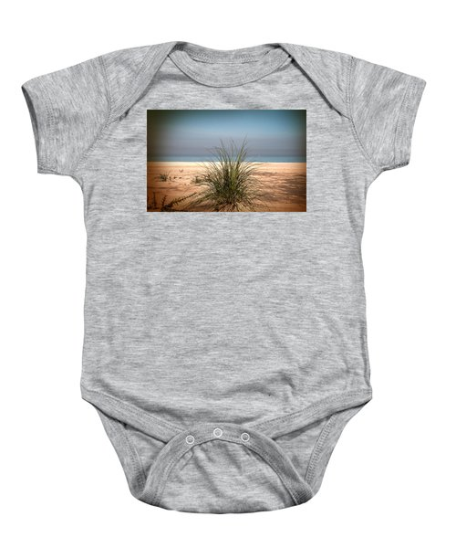 Autumn Beach Baby Onesie