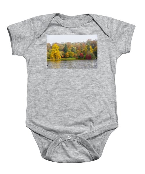 Autumn Colous Baby Onesie