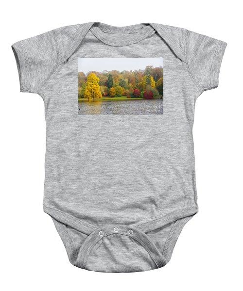 Autumn Colous Baby Onesie