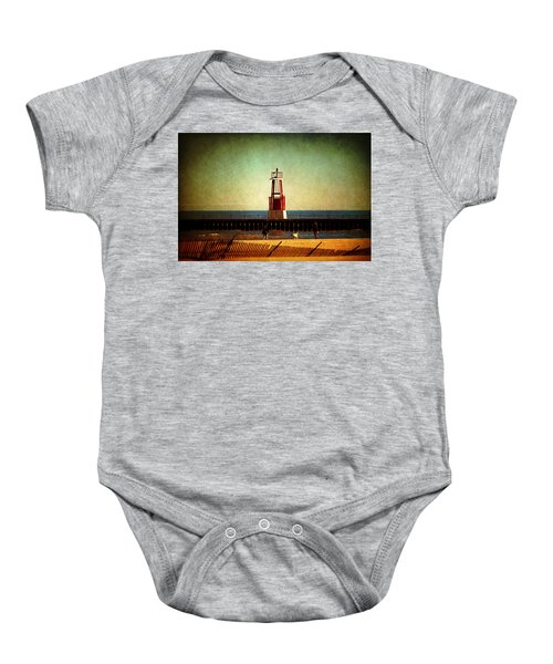 Autumn Fun In Chicago Baby Onesie