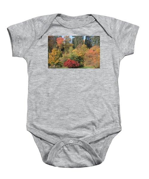 Autumn In Baden Baden Baby Onesie