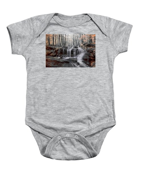 Autumn In Spring Infrared Baby Onesie