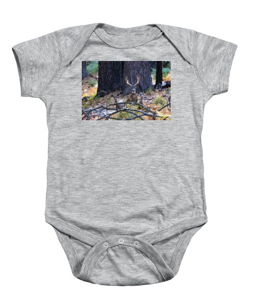 Baby Onesie featuring the photograph Autumn In The Yosemite High Country by Vincent Bonafede