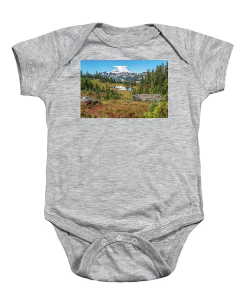 Autumn Meadow Baby Onesie