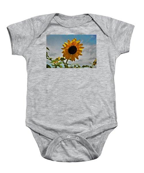 2001 - Awakening Sunflower Baby Onesie