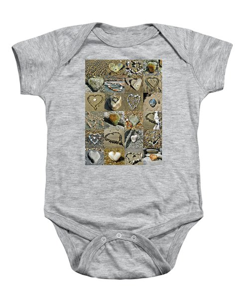 Awesome Hearts Found In Nature - Valentine S Day Baby Onesie