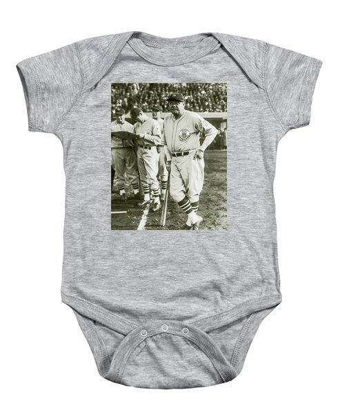 Babe Ruth All Stars Baby Onesie by Jon Neidert