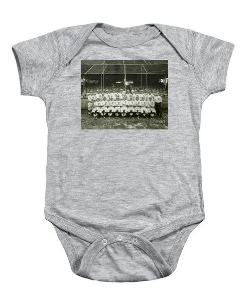 Babe Ruth Providence Grays Team Photo Baby Onesie by Jon Neidert
