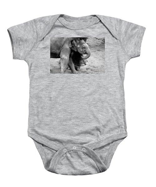 Baby Elephant Security Baby Onesie