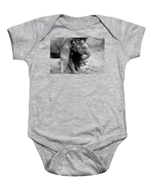 Baby Elephant Security Baby Onesie