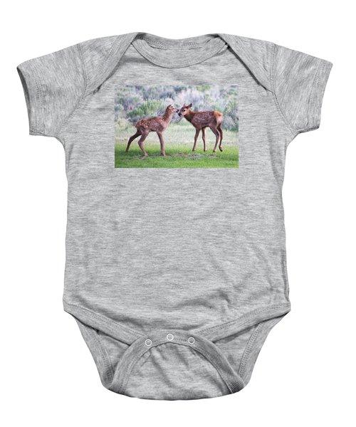 Baby Elk Baby Onesie