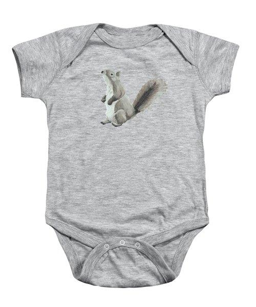 Baby Squirrel Baby Onesie