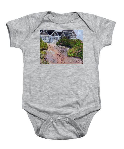 Back From The Beach Baby Onesie