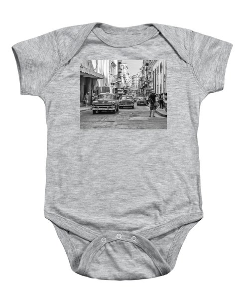Back To The Past Baby Onesie