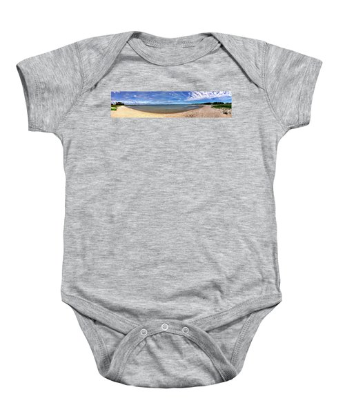 Backwater Bay Pano Baby Onesie