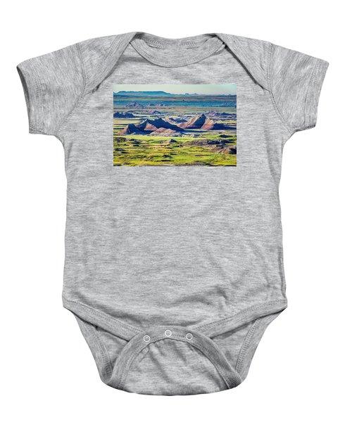 Badlands National Park Baby Onesie