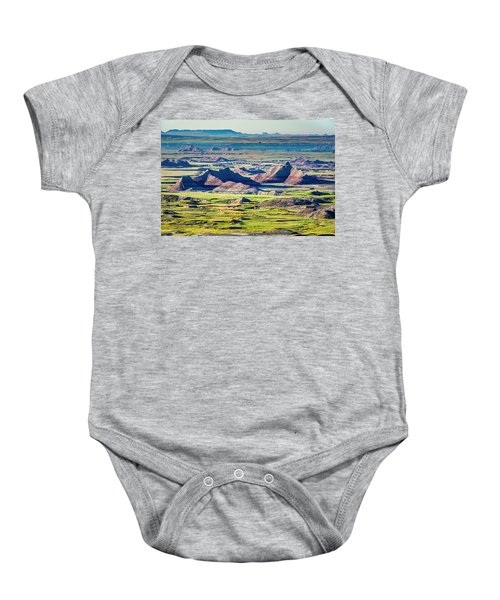 Badlands National Park Baby Onesie