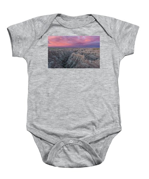 Badlands Sunrise Baby Onesie