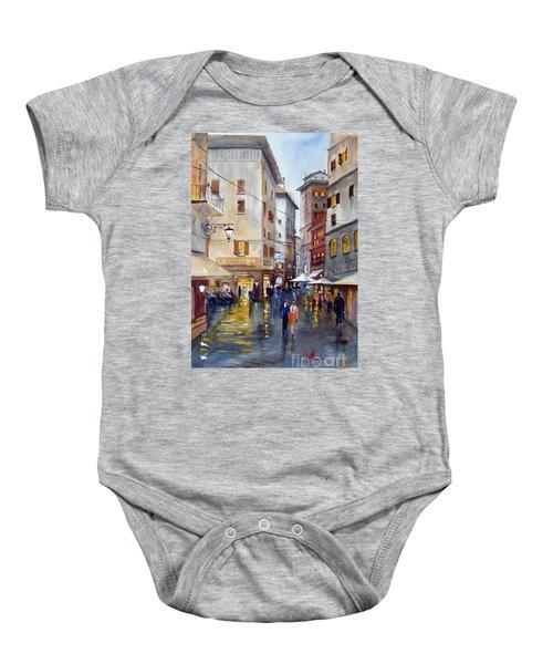 Baffettos Rome Baby Onesie