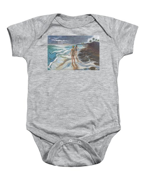 Bahia Honda Beach Baby Onesie