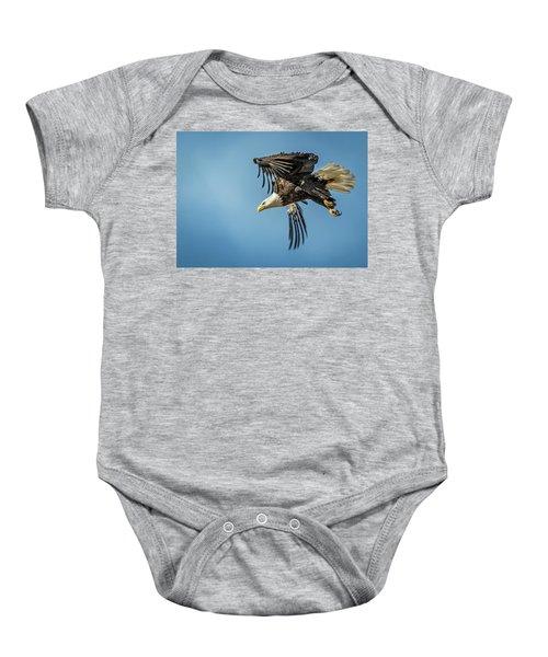 Bald Eagle Flight 1 Baby Onesie