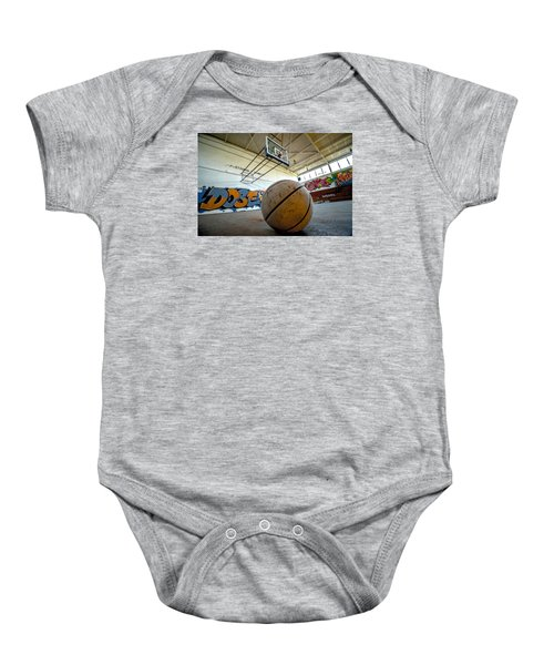 Ball Is Life Baby Onesie