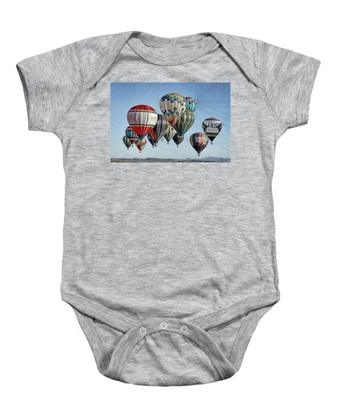 Ballooning Baby Onesie