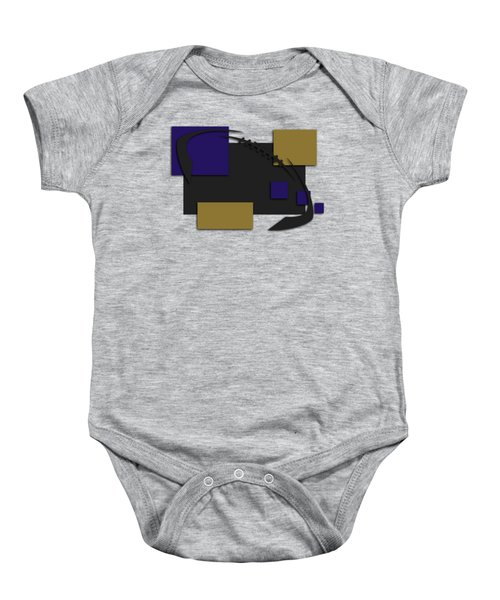 Baltimore Ravens Abstract Shirt Baby Onesie
