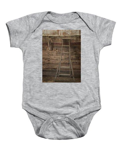 Barn Ladder Baby Onesie