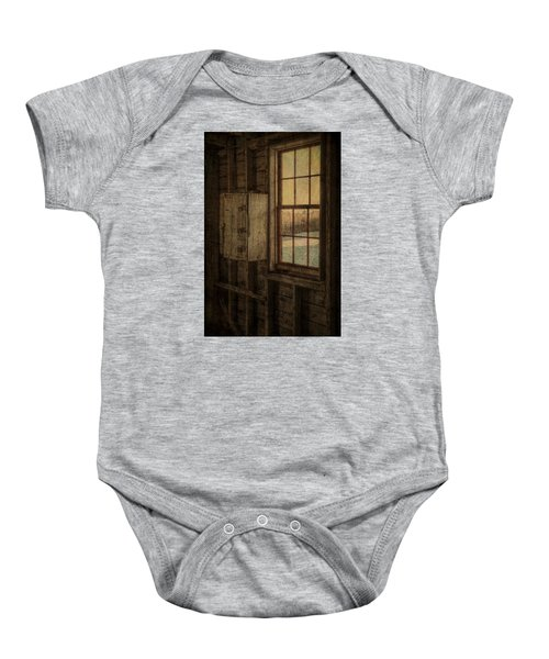 Barn Window Baby Onesie