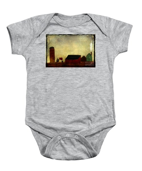 Barnyard Lullaby From Ginkelmier Land Baby Onesie