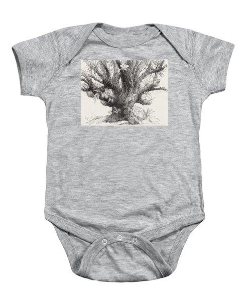Barringtonia Tree Baby Onesie